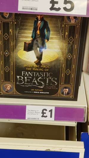 The Making of Fantastic Beasts and Where to Find Them £1 @ Tesco extra - West Bromwich