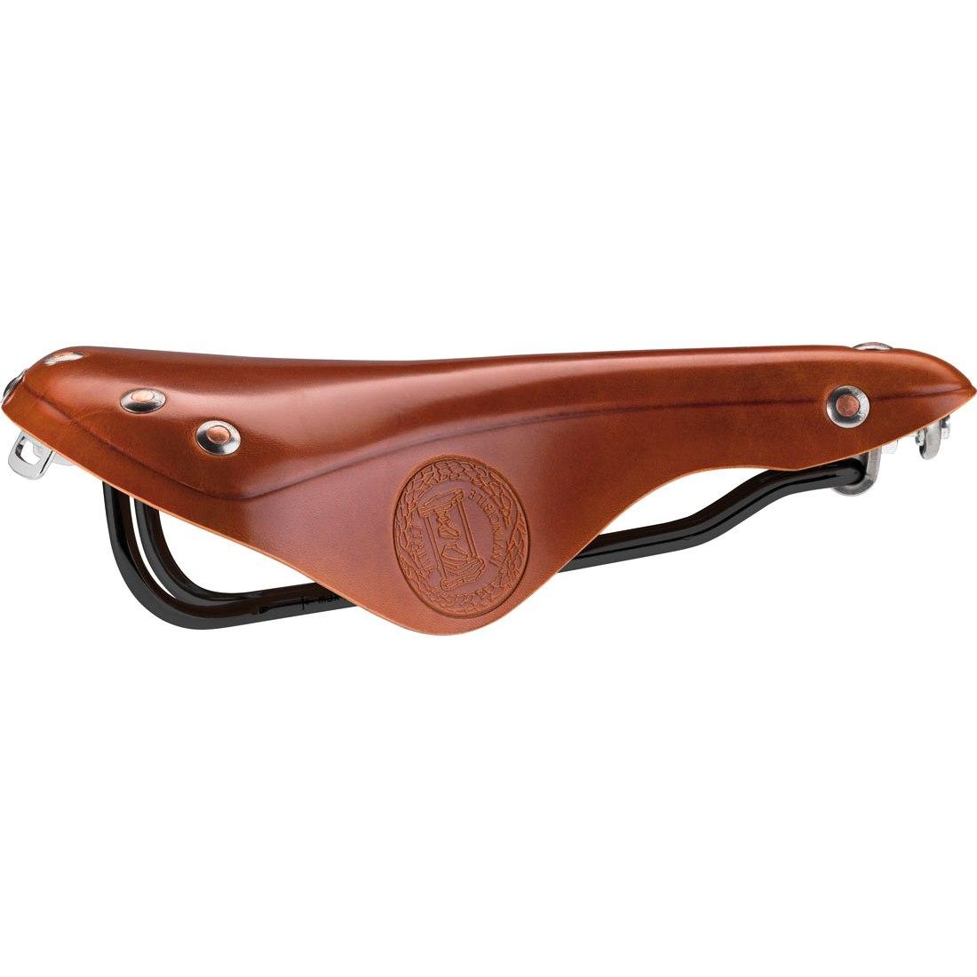 Sella Italia Epoca Black Steel Leather Saddle £49.99 @ Edinburgh Bicycle