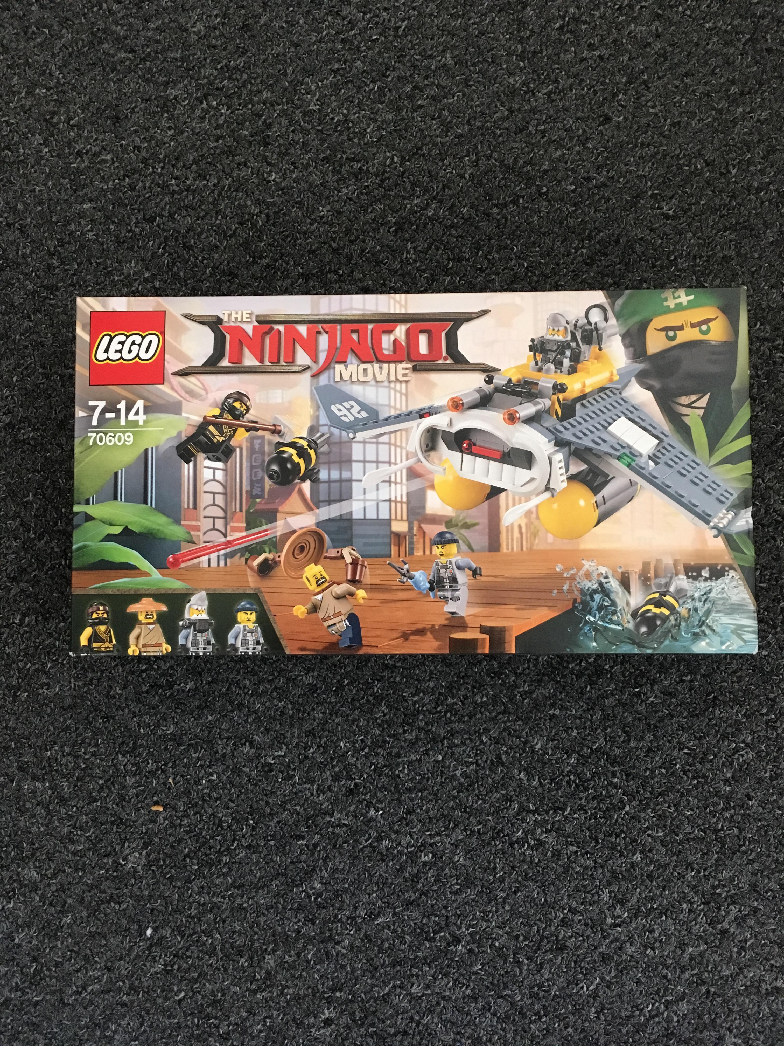 LEGO NINKAGO MOVIE 70609 REDUCE TO CLEAR MANTA RAY BOMBER £4.80 instore @ Tesco