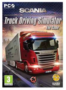Scania Truck Driving Simulator: The Game [PC Download] - 69p @ Amazon