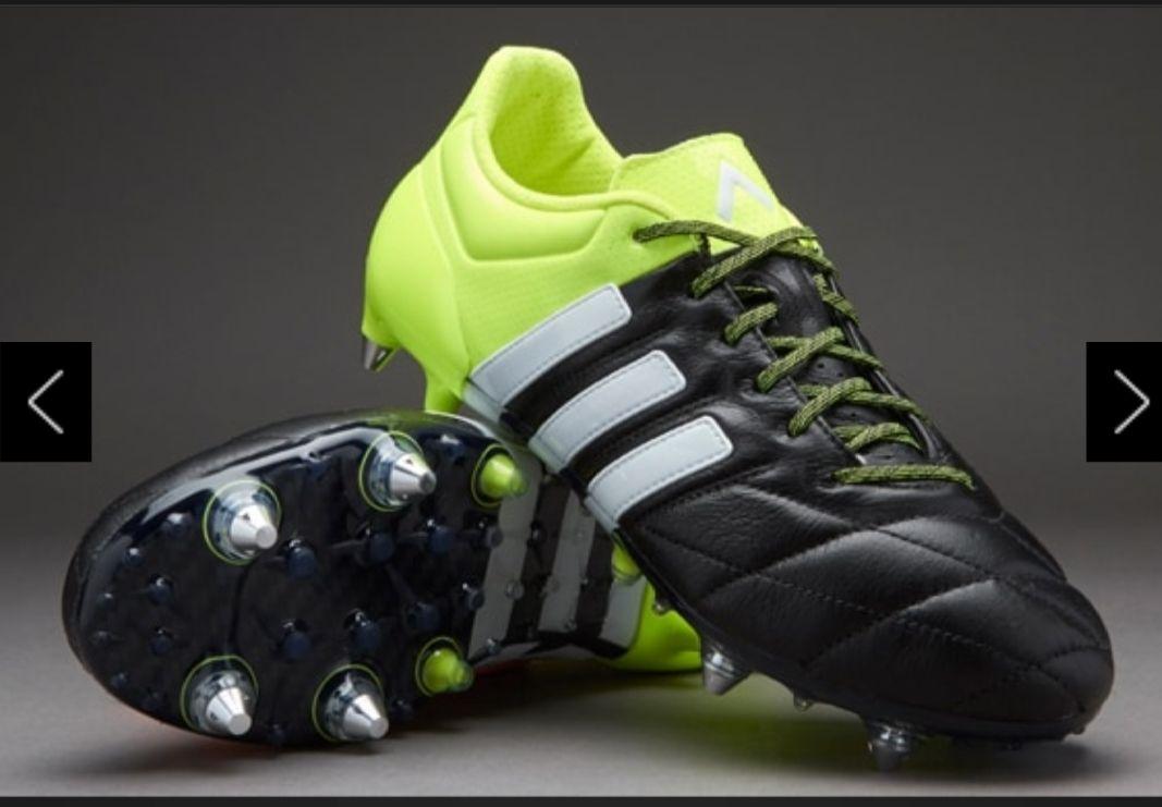 Adidas ACE 15.1 (Top model) size 6 & 7 (Prodirect  soccer 80% sale)