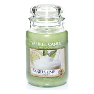 Yankee Candle Large Jar Candle, Vanilla Lime - £10.90 Prime / £15.39 non Prime @ Amazon