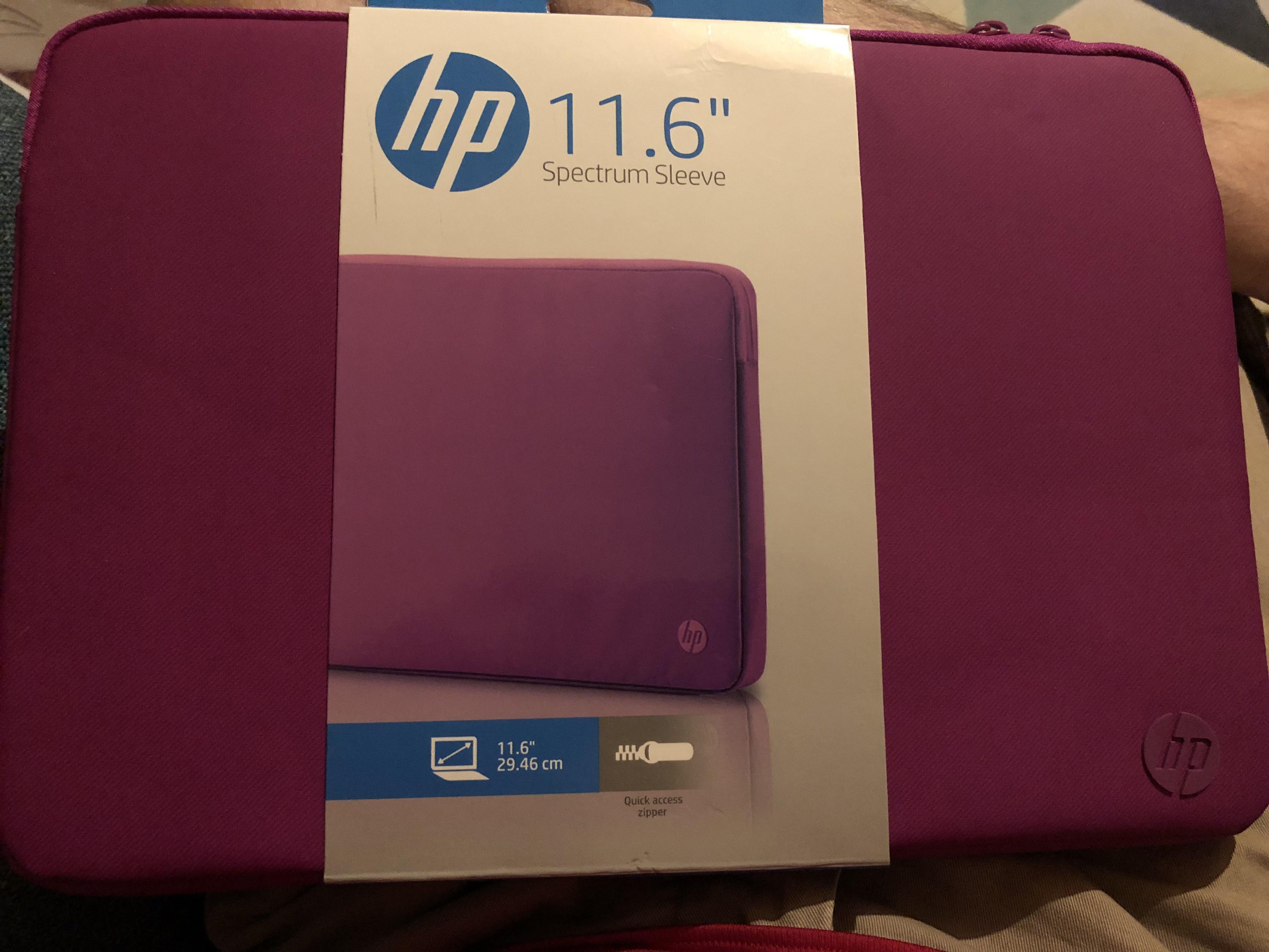 "HP 11.6"" spectrum sleeve for Hp stream - £2 instore Sainsbury's"