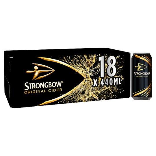Strongbow Original Cider 18x440ml - £10 @ Asda