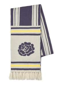Black 'Rest In Paradise' Football Scarf - Now £2 + Free C&C at Topman
