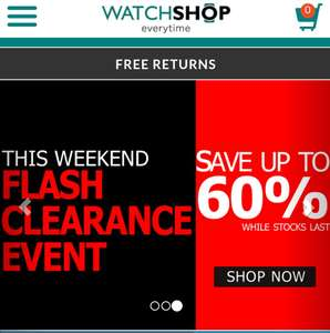 WATCH SHOP - CLEARANCE EVENT!