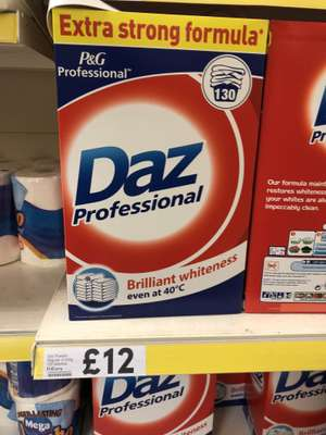 Daz Powder Regular 8.45Kg 130 Washes £12 @ Tesco