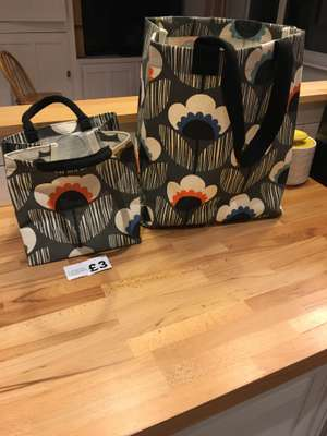 Tesco Orla Kiely Shopping bag - mini £3 instore @ Tesco