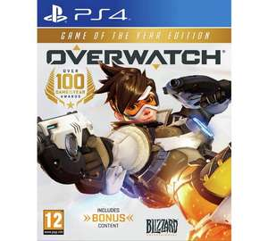 Overwatch Game of The Year Edition (PS4/Xbox One) £17.99 @ Argos (Amazon Matched)