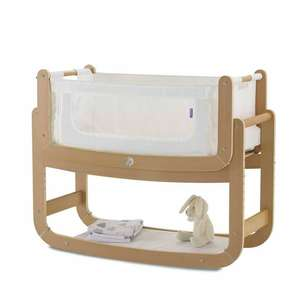 Snuzpod 2 with mattress in any colour only £162 with discount code at naturalbabyshower