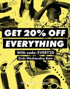 ASOS 20% off everything *Open to everyone*