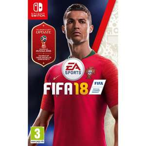 Fifa 18 Nintendo Switch at Tesco Direct for £20