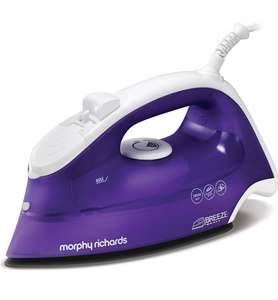 Morphy Richards Breeze Steam Iron 300275 Purple White Breeze Steam Iron - Now £21.95 at Amazon
