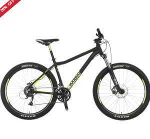 Voodoo Bantu Mens Mountain Bike £360 ebay/halfords