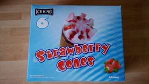 Ice King 'Cornetto' cones 6 pack (660ml) £0.99 @ Home Bargains (in-store)