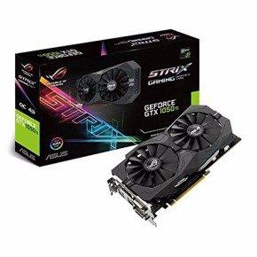 Asus ROG Strix GeForce® GTX 1050 Ti OC edition 4GB GDDR5 with ASUS Aura Sync & G-SYNC @ eBuyer.com