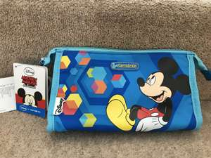 Disney by Samsonite Mickey Toiletry Bag - £1 instore at Home Bargains