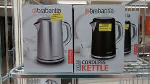 Brabantia 1.7 litre Cordless Electric Kettle in Silver or Black - Morrisons In store