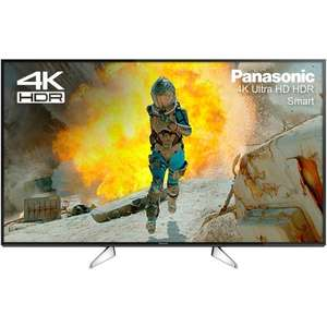 Panasonic TX-65EX600B 65 Inch 4K Ultra HD Smart LED TV Grade A - £769.99 @ Districtelectricals