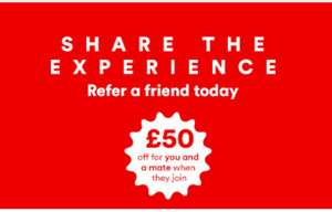 £50 off for you and a mate when they join @ virgin *No referals within the deal*