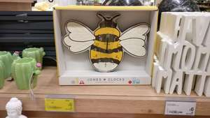 Jones Wall Clock reduced from £12 to £6 in Asda Store Dundee possible national
