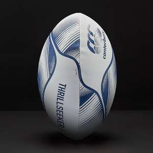 Canterbury Thrillseeker Rugby Ball Size 5 Vapour Blue Amazon add on item £4.03