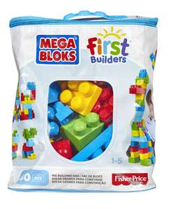 Mega Bloks First Builders 60 Piece Classic Maxi Bag (was £15) now £7.50 @ Tesco Direct