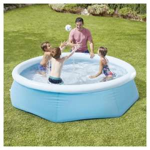 Save up to 25% on selected Outdoor Toys at Tesco Direct eg Carousel Easy Up 8ft Pool now £20 (more in OP)