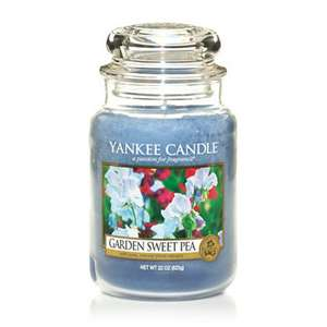 2 x Medium Yankee Candles inc postage £13.08 with code @ Clintons cards