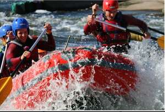 White Water Rafting £31.50 pp @ White Water rafting at Holme Pierrpont - Nottingham