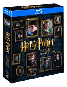 Harry Potter Complete Collection Blu-ray (8 Discs) Italian Packaging £17.01 del @ Amazon.it