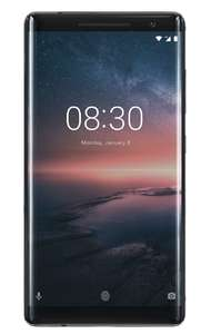 Nokia 8 Sirocco 128GB Black £599.97 / £589.97 with £1 which trial @ Laptops direct
