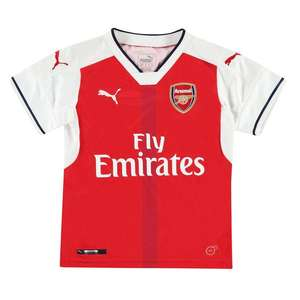 FOOTBALL KITS AND ACCESSORIES upto 50% off e.g Puma Arsenal Home Shirt 2016 2017 Junior £9 / £13.99 delivered @ Sports direct