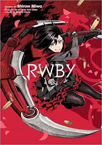 RWBY by Shirow Miwa (manga book) £4.99 Prime / £7.98 Non Prime @ Amazon