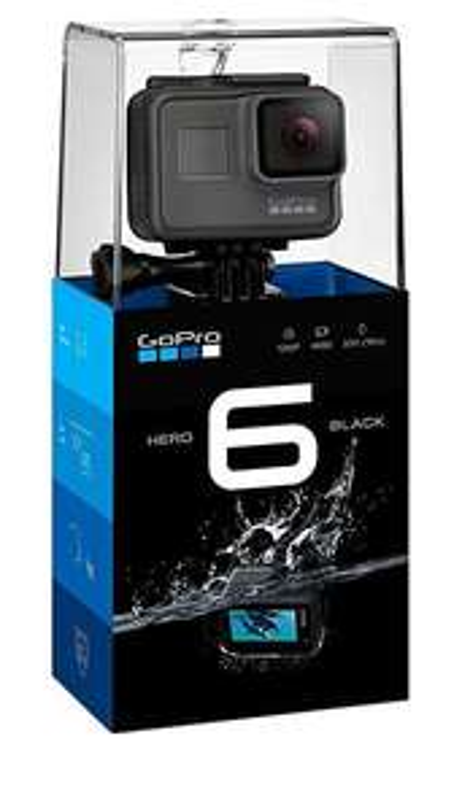 GoPro HERO6 Black 4K Ultra HD Camera £278.35 @ Eglobal Central