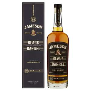 Jameson Black Barrel Irish Whiskey, 70 cl - Ends in 02h £28 @ AMAZON UK. Lowest price right now at this moment.