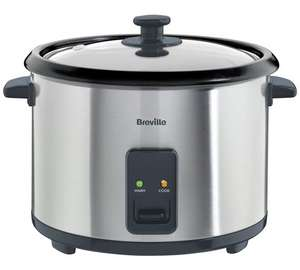 Breville ITP181 1.8L Rice Cooker and Steamer - St/Steelb £24.99 @ Argos