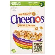 Nestle Cheerios Multigrain Cereal 600G now £1.65 from 23rd May at  Tesco