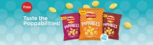 Try Walkers Poppables for free! Enter the code FREEPOPP at the checkout and the price will be deducted from your total @ Sainsbury's