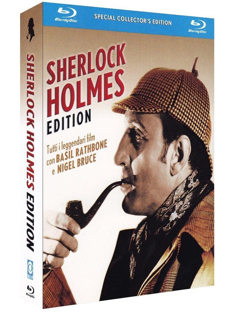 Sherlock Holmes Classic Film Collection Blu-Ray (14 Films) Italian Packaging £21.59 del @ Amazon.it