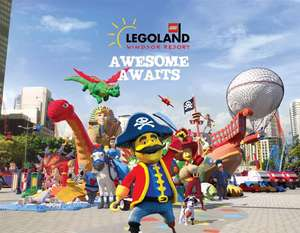 Bring A Friend For £5 if you have a Legoland/Merlin annual pass @ Legoland Windsor