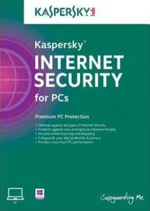 Kaspersky 2018 Internet Security 3 PC 1 YEAR EU £17.13 with code SKFG at scdkey