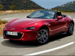 Mazda Mx-5 Convertible 1.5 SE 2dr Personal Lease for 24 months £360 admin fee - £1371.60 Initial payment + £152.40 x 24 months -  £3103.20 @ Vehicle savers