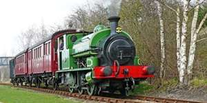Two Return Tickets for a diesel or steam train trip on Middleton Railway + Entry to Museum was £12 now £8 via Travelzoo (under 3's go Free)