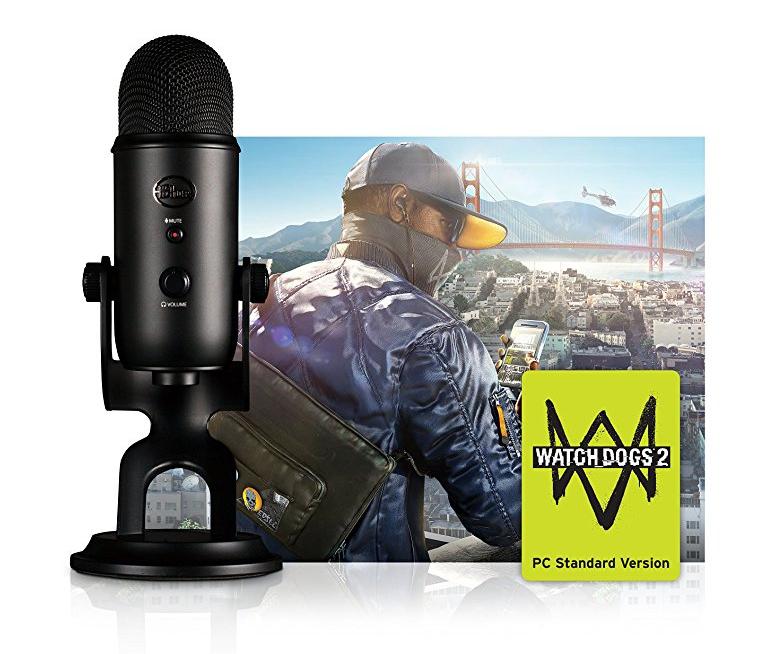 Blue Microphones Yeti USB Watchdogs 2 PC Bundle Microphone, Blackout £85.26 @ Amazon