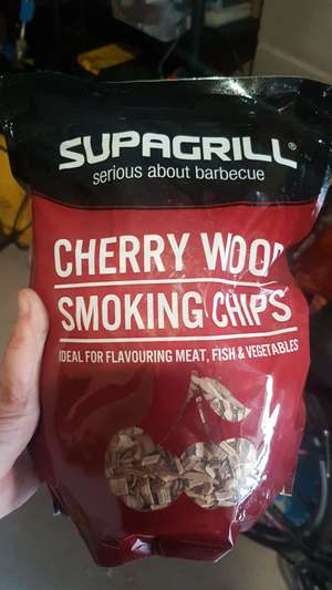 Supagrill Cherry Smoking Chips 99p @ Home Bargains