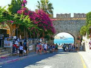 Rhodes from the Midlands - 5 days for £144pp (£288 total)