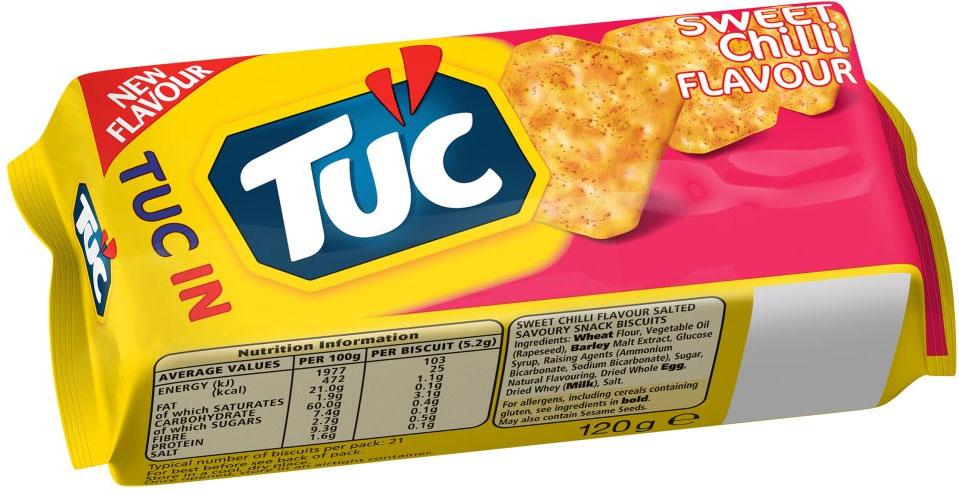 TUC Sandwich Sweet Chilli 2 for £1 @ Heron