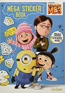 Despicable Me 3 sticker and activity books @ HomeBargains 39p each