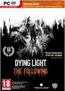 Dying Light : The Following Enhanced Edition PC for £14.99 @ CDkeys.com